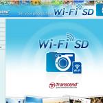 Web Oberfläche Transcend Wifi-SD